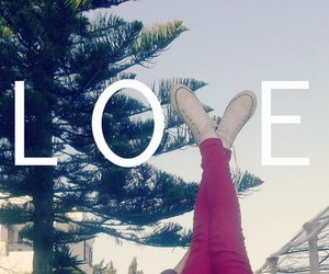 love, girl, and shoes image