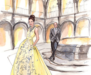 art, ball gown, and fashion image