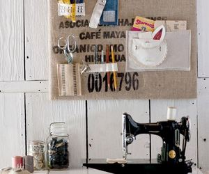 sewing machine and sewing room image