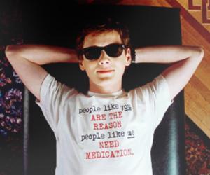 charlie bartlett, movie, and medication image