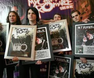 my chemical romance, gerard way, and frank iero image