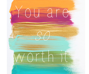 quote, worth, and you image