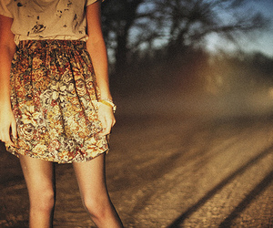 girl, photography, and skirt image
