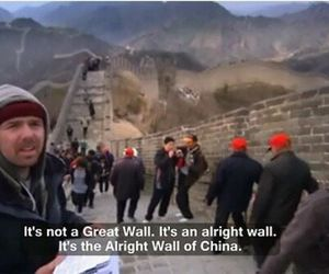 funny, china, and an idiot abroad image