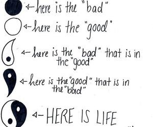 life, good, and bad image