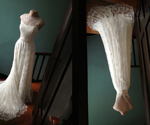 dentelle, lace, and mariage image