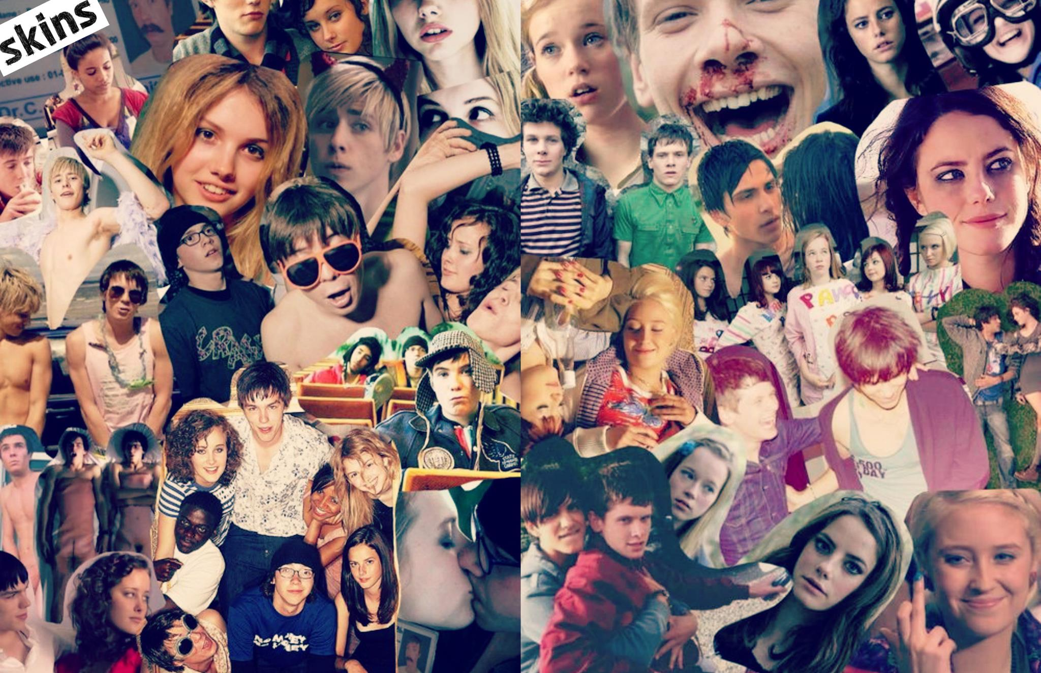skins, cassie, and maxxie image
