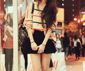 fashion, kfashion, and skirt image