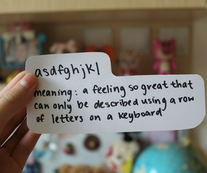 asdfghjkl, quote, and feeling image