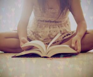 bed, books, and butterflies image
