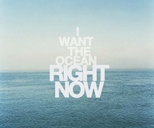 ocean, text, and quote image