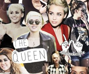 miley cyrus, miley, and Collage image