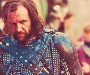 game of thrones, the hound, and sandor clegane image