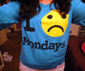 monday, hate, and shirt image