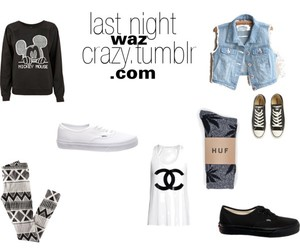 b&w, chanel, and converse image