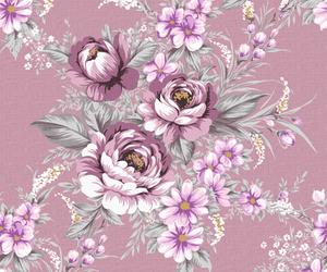 Vintage Purple Rose Wallpaper