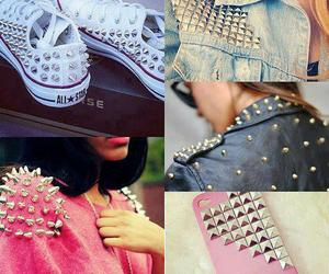 pink, converse, and cool image