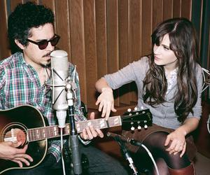 she & him, zooey deschanel, and M. ward image
