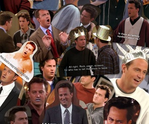 chandler, Collage, and f.r.i.e.n.d.s image