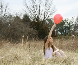 ♥, balloon, and field image
