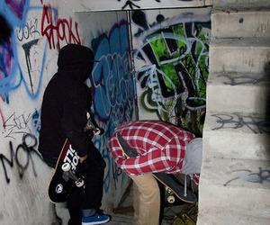 dope, ghetto, and skate image