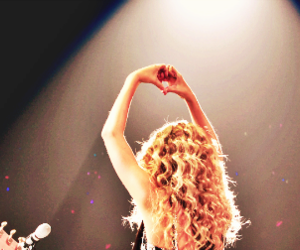 blonde, curls, and concert image