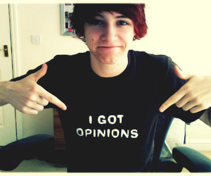 charlie mcdonnel, charlieissocool, and i got opinions image