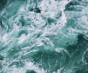 sea, water, and ocean image