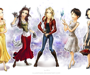 emma, once, and Fairies image