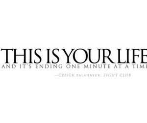 fight club, life, and text image