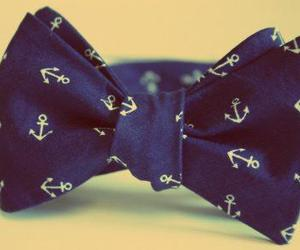 anchor, blue, and bow image