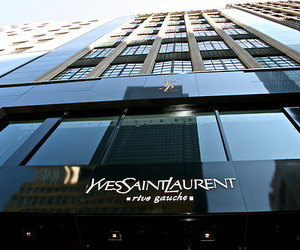 Yves Saint Laurent, YSL, and shop image