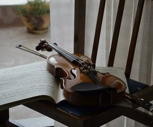 instrument, music, and notes image