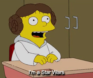 star wars, the simpsons, and simpsons image