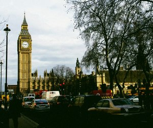 Big Ben, grain, and hipster image