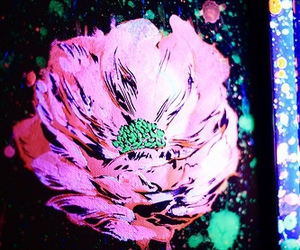 art and flower image