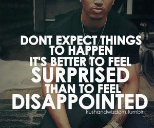 quote, disappointed, and trey songz image