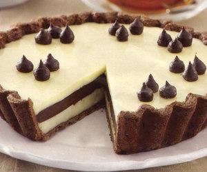 chocolate, white, and cake image