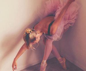 ballerina, beautiful, and fotografia image
