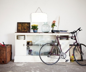 bicycle, bike, and white image