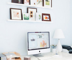 desk and home image