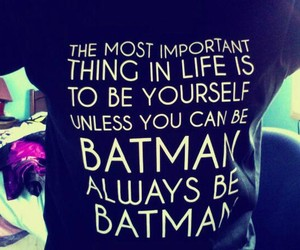 batman, quote, and t-shirt image