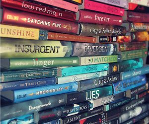 books, twilight, and mortal instruments image