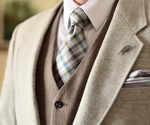 suit and men's fashion image