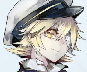 anime, blonde, and oliver image