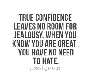 quote, love, and confidence image