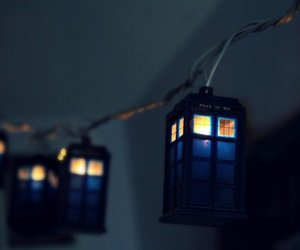 cool, doctor who, and police box image