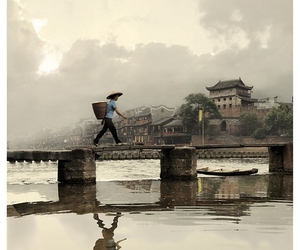 china, reflection, and location image