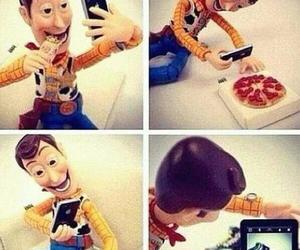 woody, iphone, and instagram image