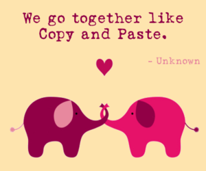 love, elephant, and quote image